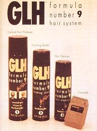 ron popiel glh 9 hair in a can spray npr but wait there s more photo 5