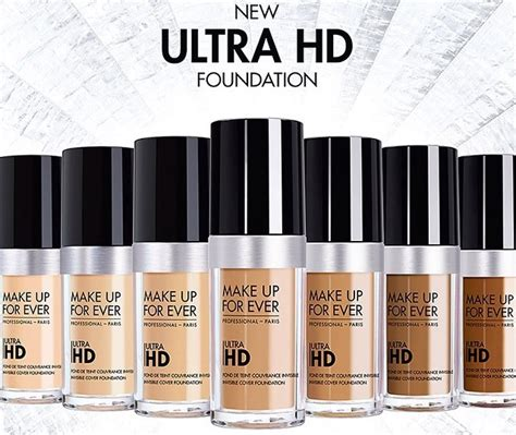 Makeup Forever Ultra Hd Foundation Ultra Hd Invisible Cover Foundation Da Makeup Forever