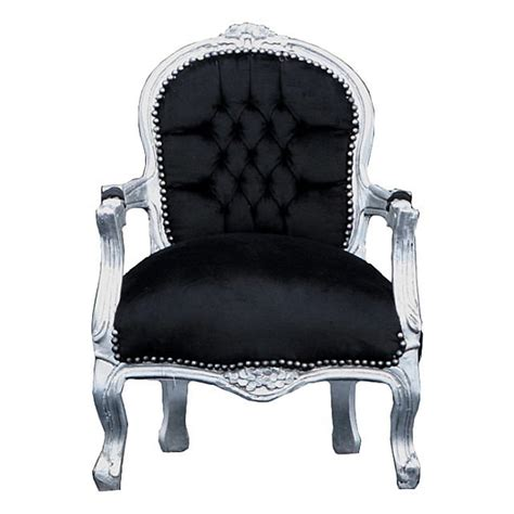 kids black armchair kids chairs elegant silver leafed child s chair in black