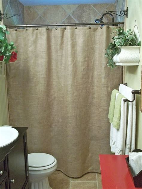 Rustic Country Shower Curtains Burlap Shower Curtain Rustic Country 28 Images Burlap Shower Curtain Khaki Beige Cotton