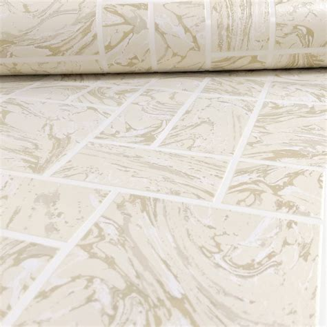 Bathroom Wallpaper Tile Effect by Holden Marble Tile Pattern Effect Kitchen Bathroom