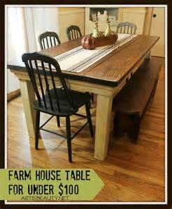 build a farmhouse build a farmhouse table for under 100 construction