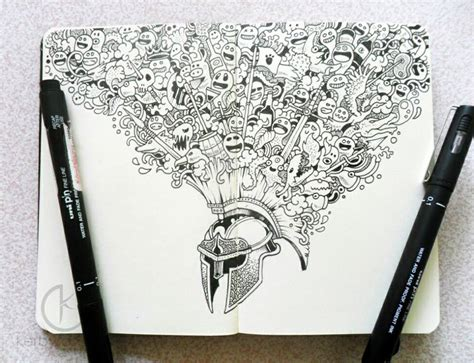 doodle drawing pens with doodle artist kerby rosanes friday