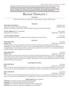 Strong Resume Template by Create Strong Resumes 5 Yourmomhatesthis