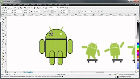 tutorial corel draw logo android coreldraw tutorial creating a logo with the android