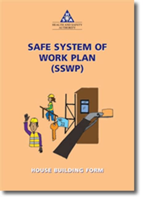 sswp house building form health  safety authority