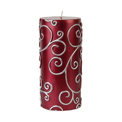 canapé modulables zest candle 3 in x 6 in scroll pillar candle bulk