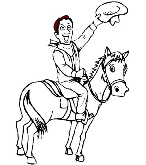 cowboy coloring pages cowboy coloring pages coloringpages1001