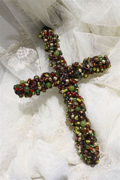 beaded cross 17 best ideas about beaded cross on pony bead