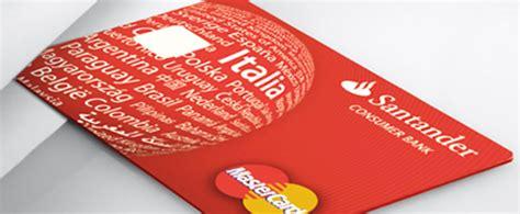 santander contatti carta di credito santander santander
