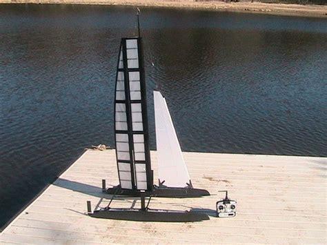 tornado radio controlled boats rc wing sail catamaran tubefr