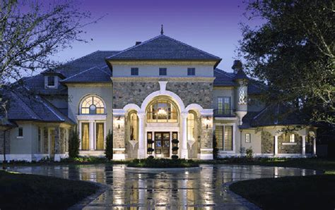 showcase beautiful country chateau luxury house plans