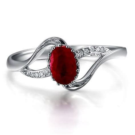 Ruby Engagement Rings by Ruby And Engagement Ring Ringolog Ruby And