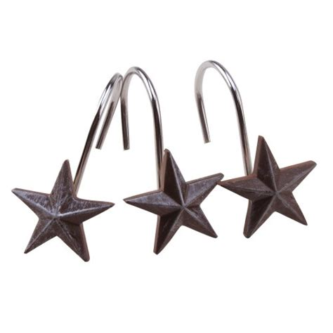 decorative shower curtain hooks agptek 174 star decorative shower curtain hooks set of 12