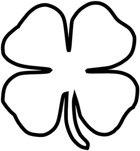 free shamrock coloring pages printable c0lor com shamrocks pictures cliparts co