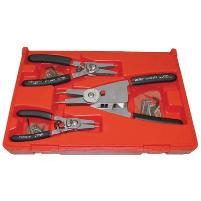 Snapring Pliers Set snap ring pliers set retaining ring pliers set matco tools