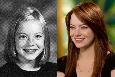 emma stone then and now 324 best images about then and now famous people on