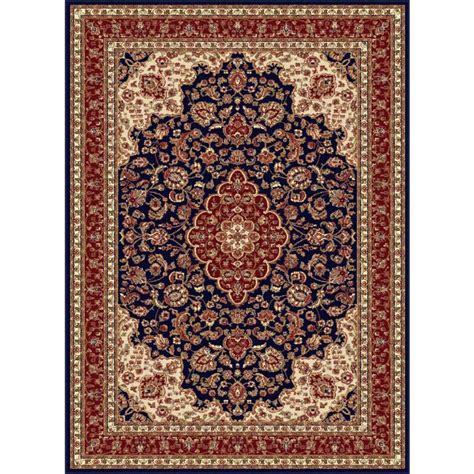 lowes rugs 5x8 shop tayse sensation blue rectangular indoor machine made area rug common 8 x 10 actual 7 83
