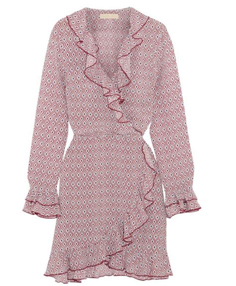8 Pretty Wrap Dresses by Femail Rounds Up Pretty Wrap Dresses Like Culpo S
