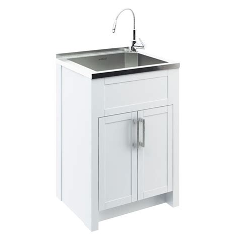 laundry room sink and cabinet odyssey stainless steel laundry tub with cabinet rona