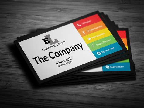 business cards personal colorful personal business card business card templates