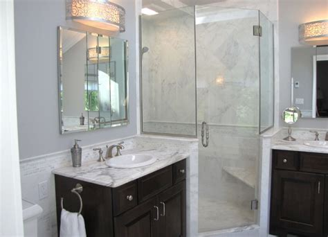 Home Dividers by Dream Bathrooms Transitional Bathroom New York By