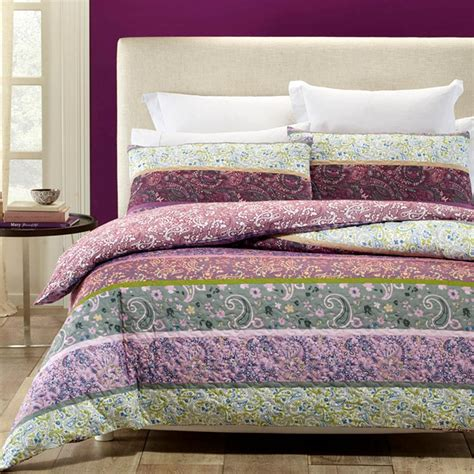 Quilted Duvet Cover Avonleigh Purple Grey Quilted King Quilt