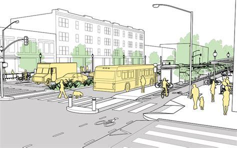 geometric design criteria for urban streets performance measures national association of city