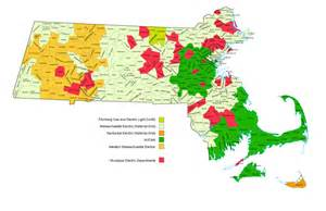 electric utility map power