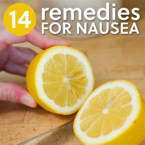 soothing remedies  nausea morning sickness