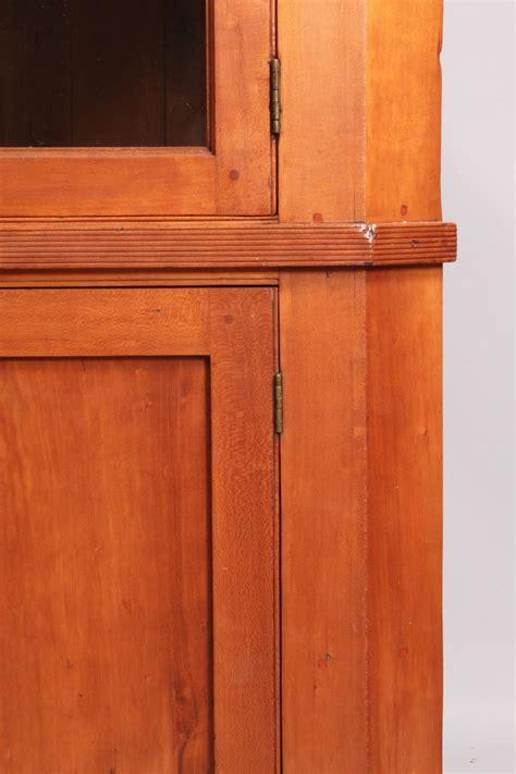 Cupboard Tn Lot 43 Middle Tn Cherry Corner Cupboard