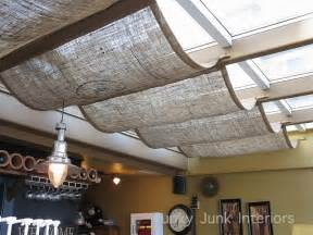 Ideas Design For Burlap L Shades Burlap Window Shades At A Coffee Shop