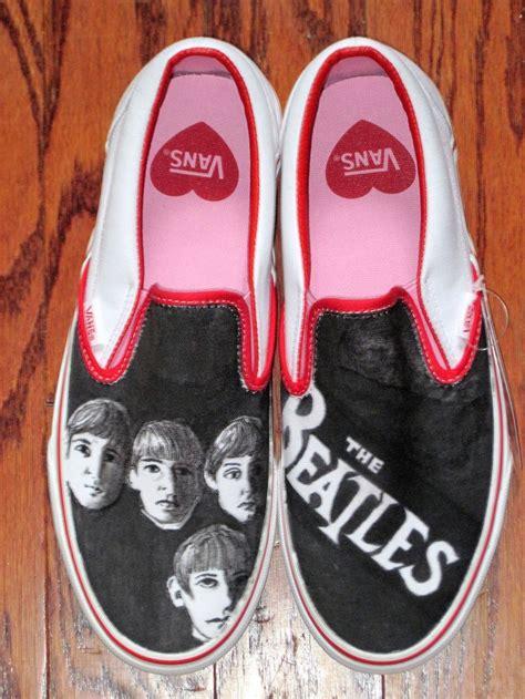 beatles sneakers beatles custom vans custom sneakers