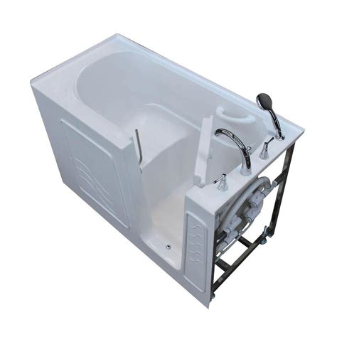 heated whirlpool bathtubs universal tubs nova heated 5 ft walk in non whirlpool
