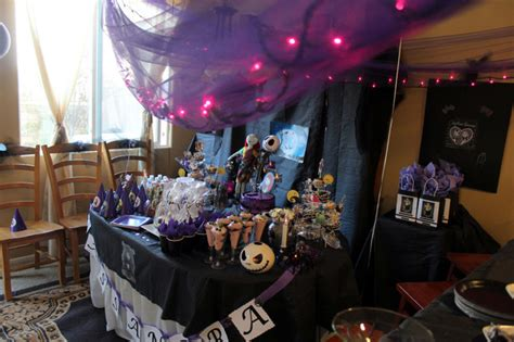 nightmare before christmas birthday party ideas photo 16