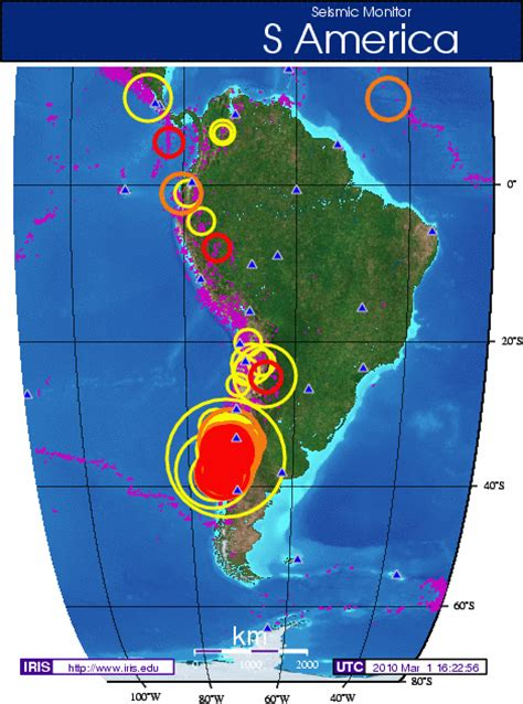 in chile s earthquake education was key to low mortality iris data services newsletter volume 12 no 1 spring