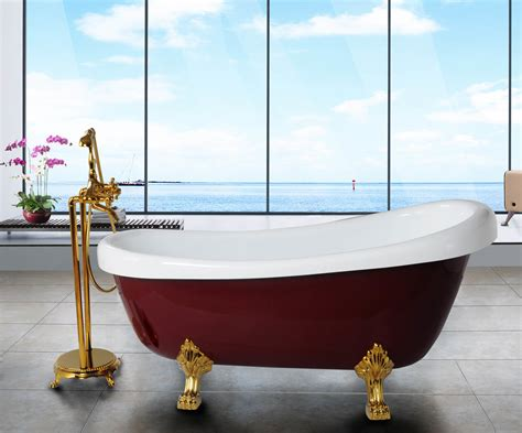 bathtub with legs china the red royal acrylic bathtub with legs bf 6619