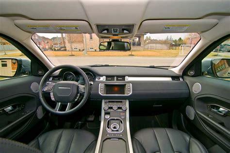 Evoque Coupe Interior by Range Rover Evoque Coupe Vs Mini Paceman Comparison Test
