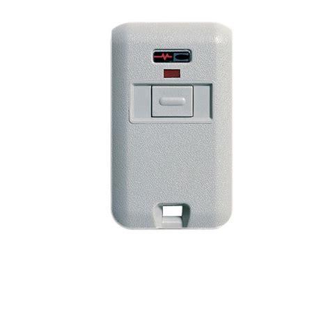 Multi Code Garage Door Remote Multi Code 3060 Keychain Gate Garage Door Opener 1 Button Remote By Linear Mcs306010 Multicode