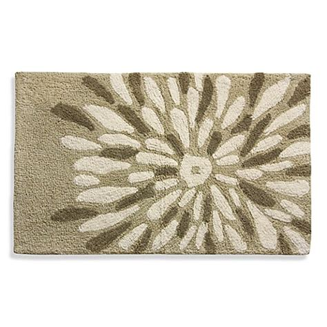 Oversized Bathroom Rugs Brown Large Flower Bath Rug Bed Bath Beyond