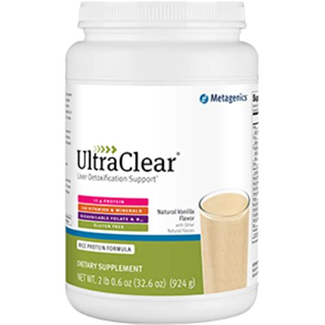 Metagenics Ultra Clear Detox Diet by Ultraclear Food Metagenics Pine Clinic
