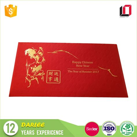 new year envelopes buy 2017 rooster texture paper hong bao new year
