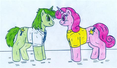 mlp fairly oddparents pony cosmo and wanda by jose ramiro on deviantart