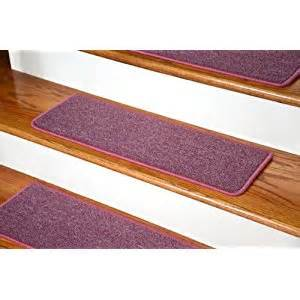 Stick On Stair Treads by Dean Diy Peel And Stick Serged Non Skid Carpet Stair