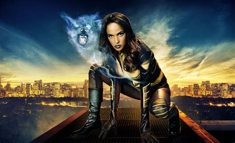 show on tv vixen cw seed animated series character to visit arrow