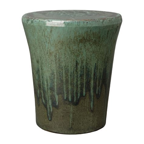Outdoor Garden Stool by Teal Garden Stool Seven Colonial