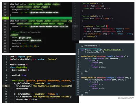 atom themes folder c 243 mo configurar atom editor y sus mejores plugins que