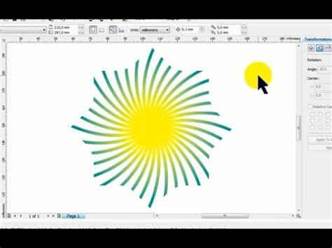 youtube tutorial corel draw x5 bahasa indonesia membuat objek dengan distort dan intersect di corel draw