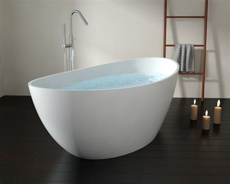 modern freestanding bathtubs badeloft upc certified stone resin freestanding