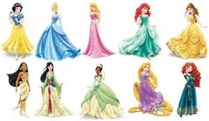Glitter Wall Stickers pictures of cartoon princess free download clip art